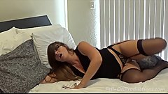 Madisin Lee in &quot_Tipsy Mommy Confusion&quot_ Mom fucks son by accident