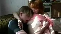 Zeca Russian Mature Mom and Son.