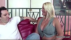 Extrem Hot Step-Mom Seduce Step-Son to Fuck her