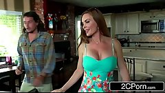 Dirty Hot Ass MILF Diamond Foxx Fucks Son'_s Friend