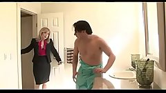 horny mom seduces son'_s friend - Watch Part 2 at FilthyGeek.com