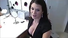 Stepmom shows son the tip game