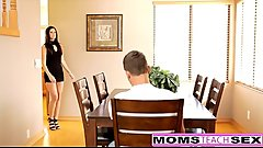 MomsTeachSex - Horny Step Mom Fucks Son