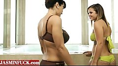 Lisa Ann and Keisha Grey at Mom and Girl  -JASMINFUCK.com