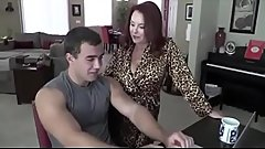 Hot Blonde Stepmom Has Taboo Sex With Stepson - Watch Part2 on HotCam3x.com