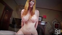 Creaming in Mommy'_s Hairy Pussy -Lady Fyre