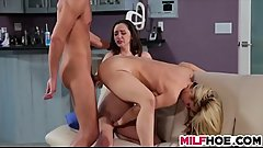 Horny MILF Is Here To Help Cute Teens